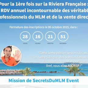9 bonnes raisons d'assister à Secrets du MLM Events #3