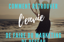 envie de faire du marketing de réseau