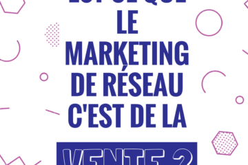 marketing de réseau et vente